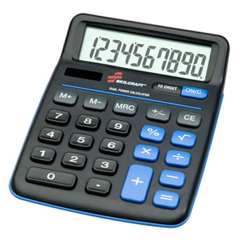 AbilityOne® SKILCRAFT® Desktop Calculator Thumbnail