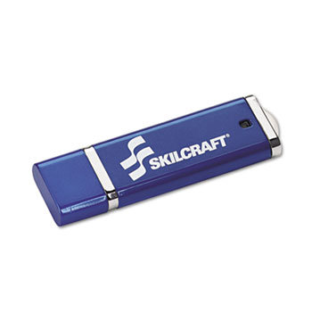AbilityOne® SKILCRAFT® USB Flash Drive with 256-bit AES Encryption Thumbnail