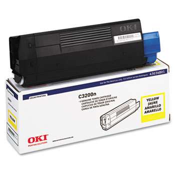 Oki® 43034801, 43034802, 43034803, 43034804 (Type C6) Toner Cartridge Thumbnail