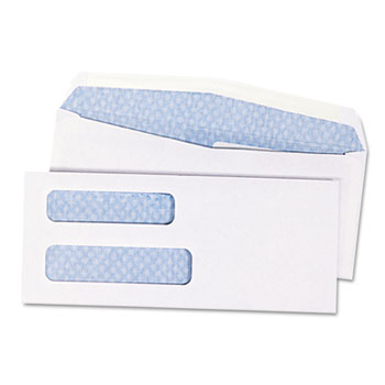 Quality Park™ Double Window Redi-Seal™ Security-Tinted Envelope Thumbnail