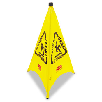 Rubbermaid® Commercial Multilingual Pop-Up Safety Cone Thumbnail