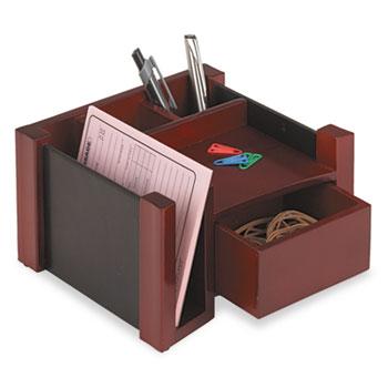 Rolodex Desk Director Wood 7 1 8 X 6 3 4 Black Mahogany