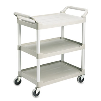 Rubbermaid® Commercial Three-Shelf Service Cart Thumbnail