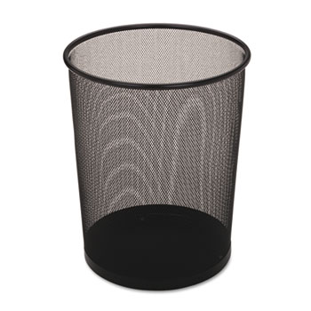 Rubbermaid® Commercial Steel Mesh Wastebasket Thumbnail