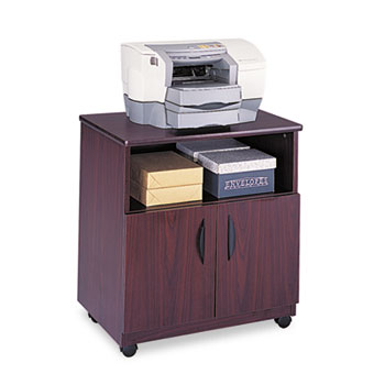 Safco® Mobile Laminate Machine Stand With Open Compartment Thumbnail