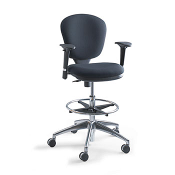 Safco® Metro™ Collection Extended-Height Chair Thumbnail