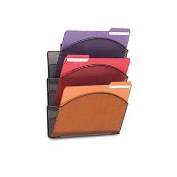 Safco® Onyx™ Mesh Wall Pockets Thumbnail