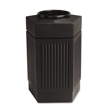 Safco® Canmeleon Indoor/Outdoor Pentagon Receptacle Thumbnail