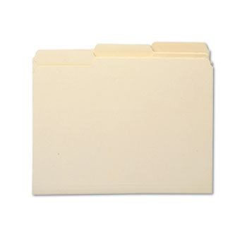 Smead® 100% Recycled Manila Top Tab File Folders Thumbnail