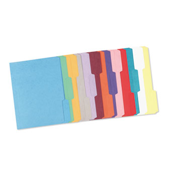 Smead® Reinforced Top Tab Colored File Folders Thumbnail