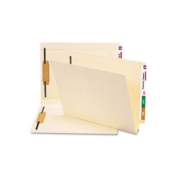 Smead® Manila End Tab Fastener Folders with Reinforced Tabs Thumbnail