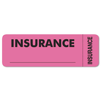 Tabbies® Insurance Labels Thumbnail