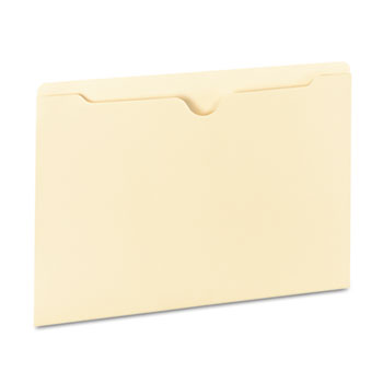 Universal® Deluxe Manila File Jackets with Reinforced Tabs Thumbnail