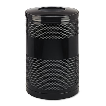Rubbermaid® Commercial Classics Perforated Open Top Receptacle Thumbnail