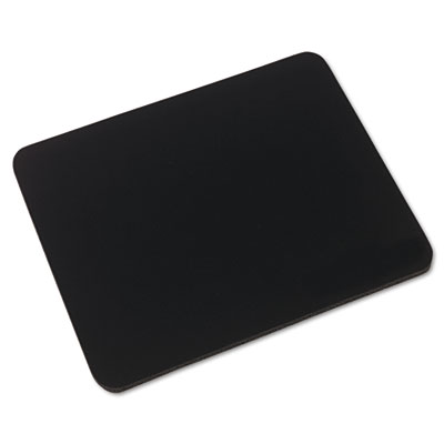 Innovera® Natural Rubber Mouse Pad, Black
