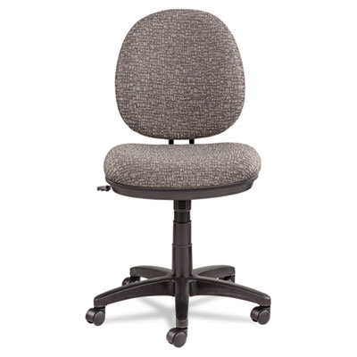 Alera Interval Swivel/Tilt Task Chair, Tone-On-Tone Fabric, Graphite Gray