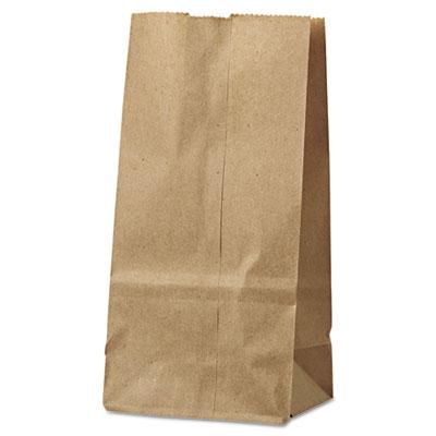 #2 PAPER BAG 30LB 4x2.5x8 KRAFT 500/PK