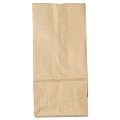 General  5 Paper Grocery Bag, 35lb Kraft, Standard 5 1 4 x 3 7 16 x 10  15 16, 500 bags b6deadbb66