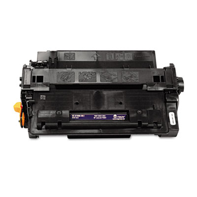 0281600001 55A MICR Toner Secure, Alternative for HP CE255A, Black TRS0281600001