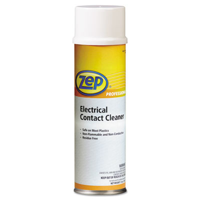 Zep Professional® Electrical Contact Cleaner, Neutral, 12oz Aerosol, 12/Carton - 1041830
