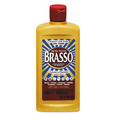 BRASSO® Metal Surface Polish, 8 oz Bottle