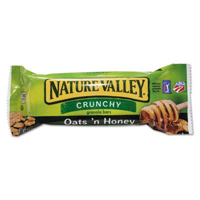 Granola Bars, Oats'n Honey Cereal, 1.5 oz Bar, 18/Box