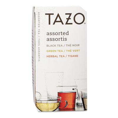 Assorted Tea Bags, Three Each Flavor, 24/Box