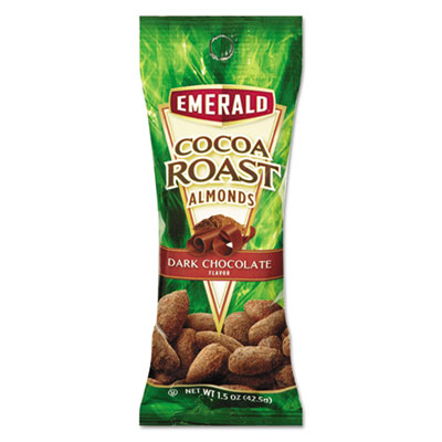Cocoa Roast Almonds, 1.5 oz Tube Package, 12/Box