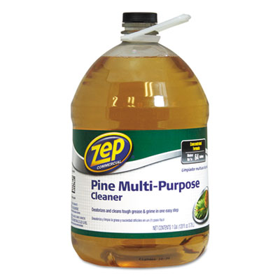 Zep Commercial® Multi-Purpose Cleaner, Pine Scent, 1 gal Bottle - 1041695