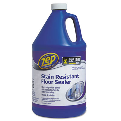 Zep Commercial® Stain Resistant Floor Sealer, 1 gal Bottle - 1044994