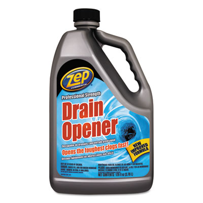 Zep Commercial® Professional Strength Drain Opener, 1 gal Bottle - 1047518