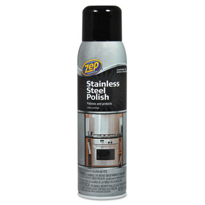 Zep Commercial® Stainless Steel Polish, 14 oz Aerosol - 1046517