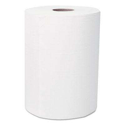 """Scott® Slimroll Hard Roll Towels, Absorbency Pockets, 8"""" x 580ft, White, 6 Rolls/Carton"""