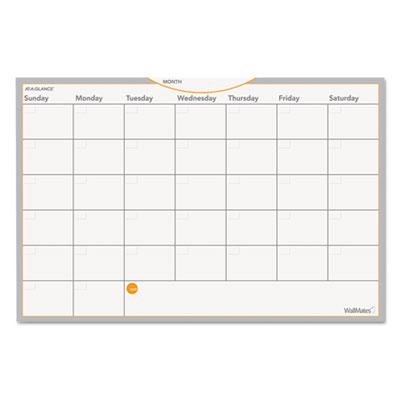 AT-A-GLANCE® WallMates® Self-Adhesive Dry Erase Planning Surfaces