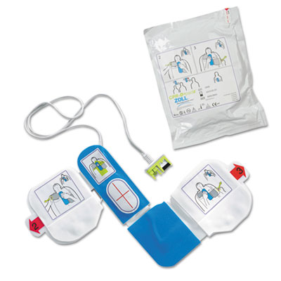 ZOLL® CPR-D-Padz Adult Electrodes, 5-Year Shelf Life - 8900080001