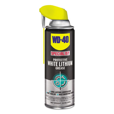 WD-40® Specialist Protective White Lithium Grease, 10 oz Aerosol - 300240
