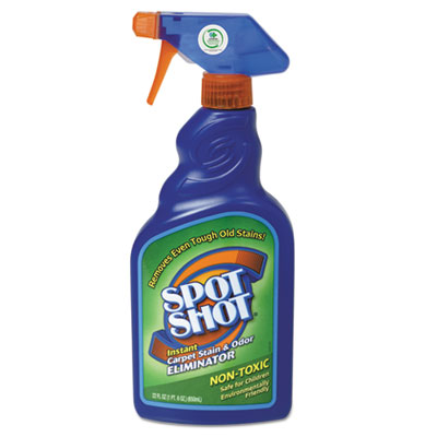 WD-40® Spot Shot Instant Carpet Stain & Odor Eliminator, 22oz Spray Bottle, 6/Carton - 9716