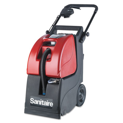 Electrolux Sanitaire® Butler 3-Gallon Carpet Extractor 6092A, 3.5 gal Tank, Red/Black, 35 ft Cord