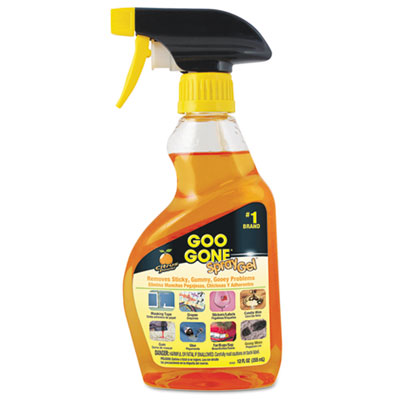 Goo Gone® Spray Gel Cleaner, Citrus Scent, 12 oz Spray Bottle, 6/Carton - 2096