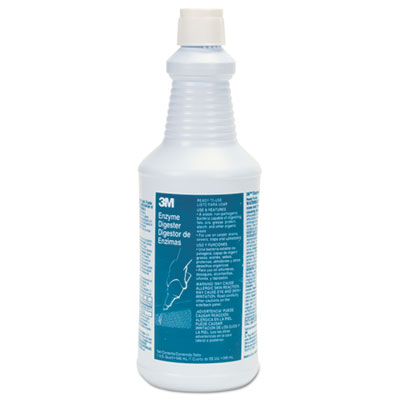 3M™ Enzyme Digester, 32 oz Bottle, 384/Carton