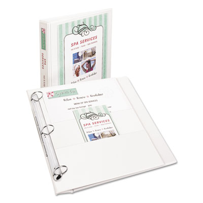 Avery® Flip Back 360°® Durable View Binder with Round Rings