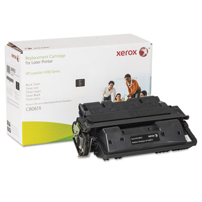 006R00933 Replacement High-Yield Toner for C8061X (61X), 10800 Page Yield, Black XER006R00933