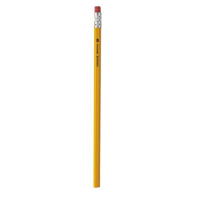 #2 Woodcase Pencil, HB (#2), Black Lead, Yellow Barrel, 144/Box