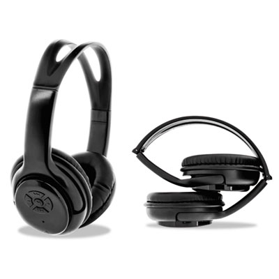 ByTech Bluetooth Headphones, Black