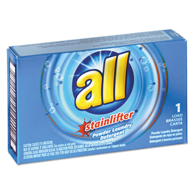 All® Ultra HE Coin-Vending Powder Laundry Detergent, 1 Load, 100/Carton - 2979267