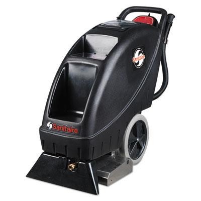 Electrolux Sanitaire® Model SC6095 Upright Carpet Cleaner, 9 gal Recovery Tank, 100 psi, Black