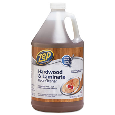 Zep Commercial® Hardwood and Laminate Cleaner, 1 gal Bottle - 1041692