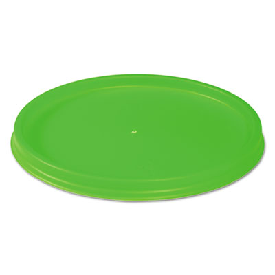 WinCup® Biodegradable Lids for Vio Food Containers, EPS, Green, 1000/Carton - FL8V VIO