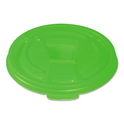 WinCup® Vio Biodegradable Lids f/8 oz Cups, Green, 1000/Carton - DT8VIO