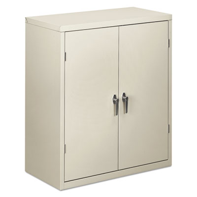 Embled Storage Cabinet 36w X 18 1 4d 41 3 4h Light Gray